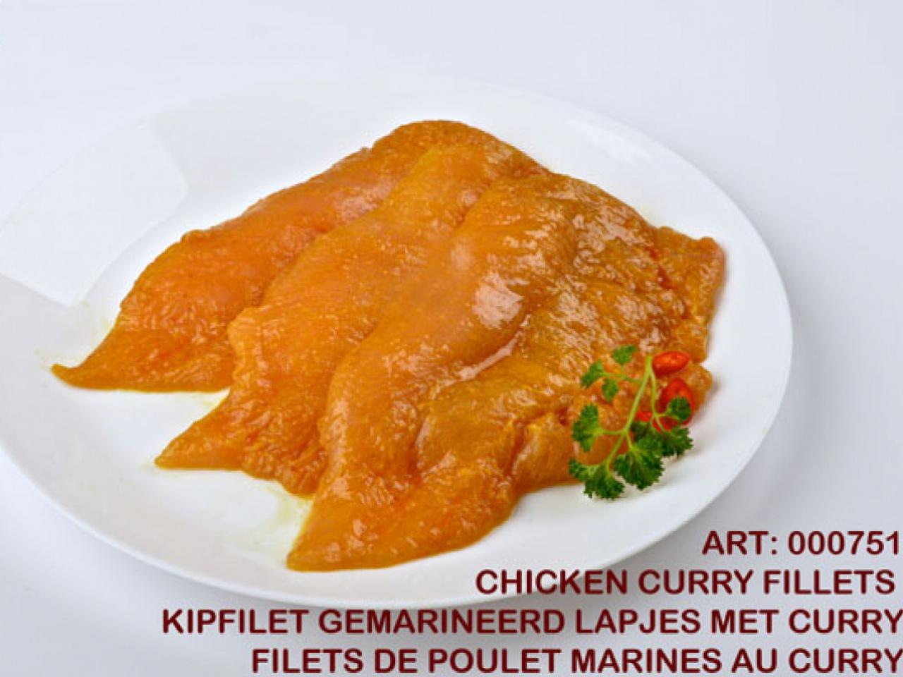 Chicken Curry Tenderloin Frozen