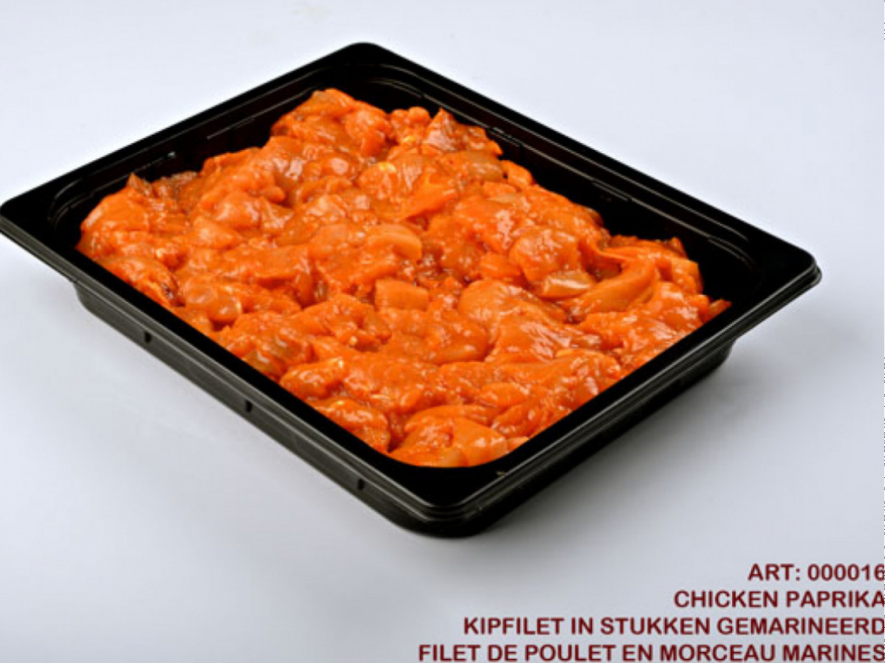 Chicken Paprika Frozen 5kg In Trays