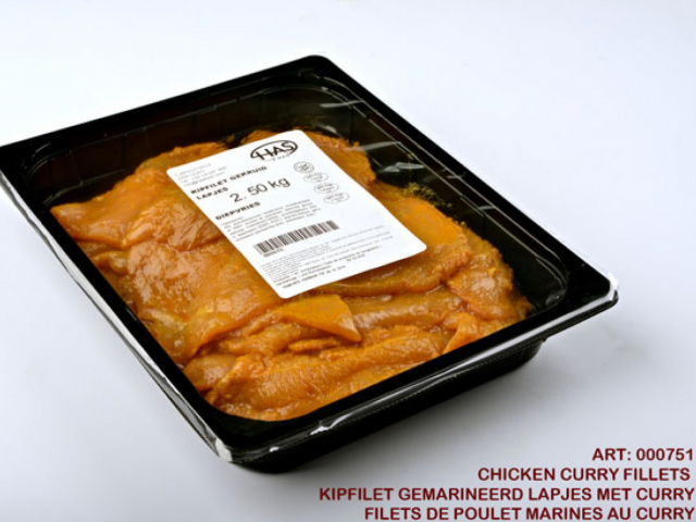 Chicken Curry Tenderloin Frozen