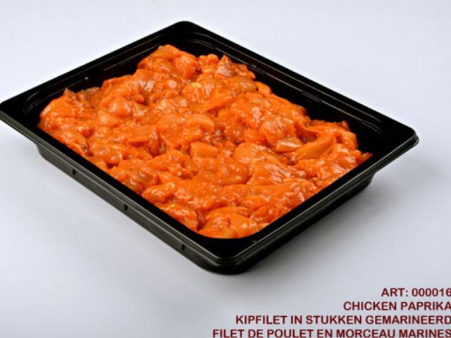 Chicken Paprika Frozen 2.5kg In Trays
